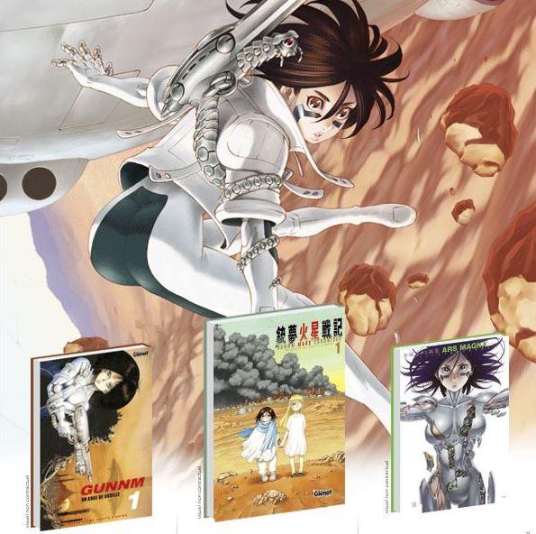 Le retour de Gunnm, Manga, MArc Chronicle, Ars Magna, Glenat