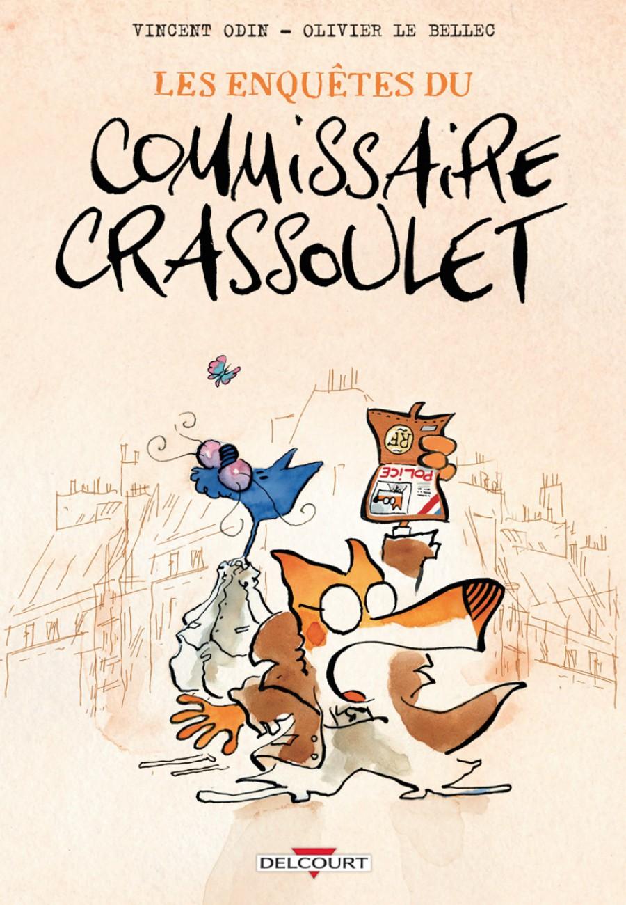 Preview, Les enquêtes du commissaire Crassoulet, Vincent Odin, Olivier Le BEllec, Delcourt