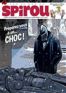 Couverture Journal de Spirou