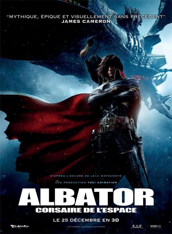 Affiche film Albator corsaire de l'espace