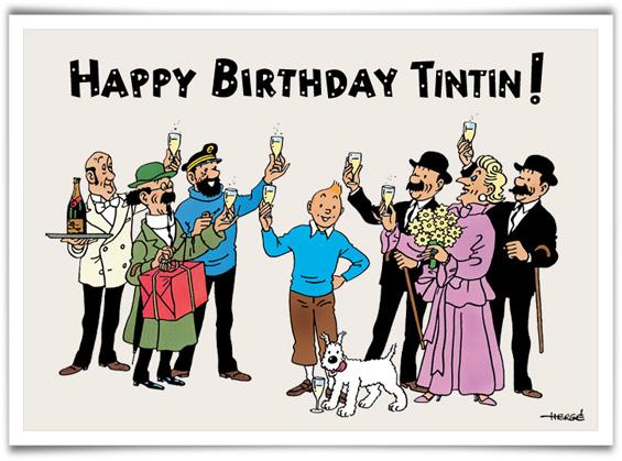 TINTIN - Page 2 HappyBirthday