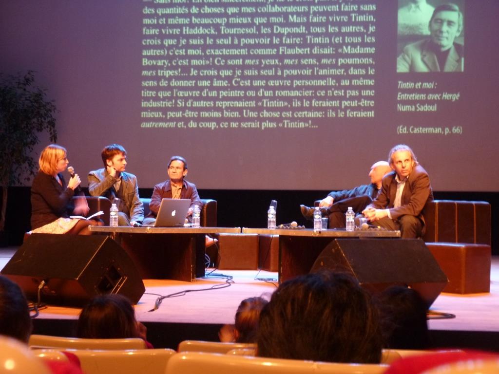 Conférence de Presse Tintin