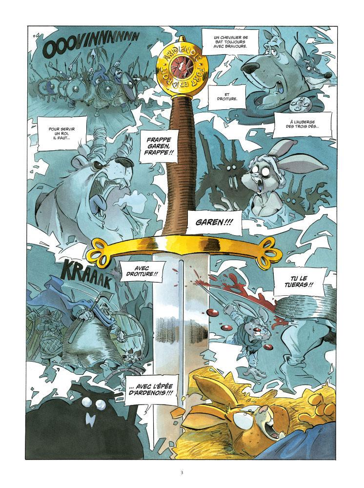 L'épée d'Ardennois T3 Planche 1
