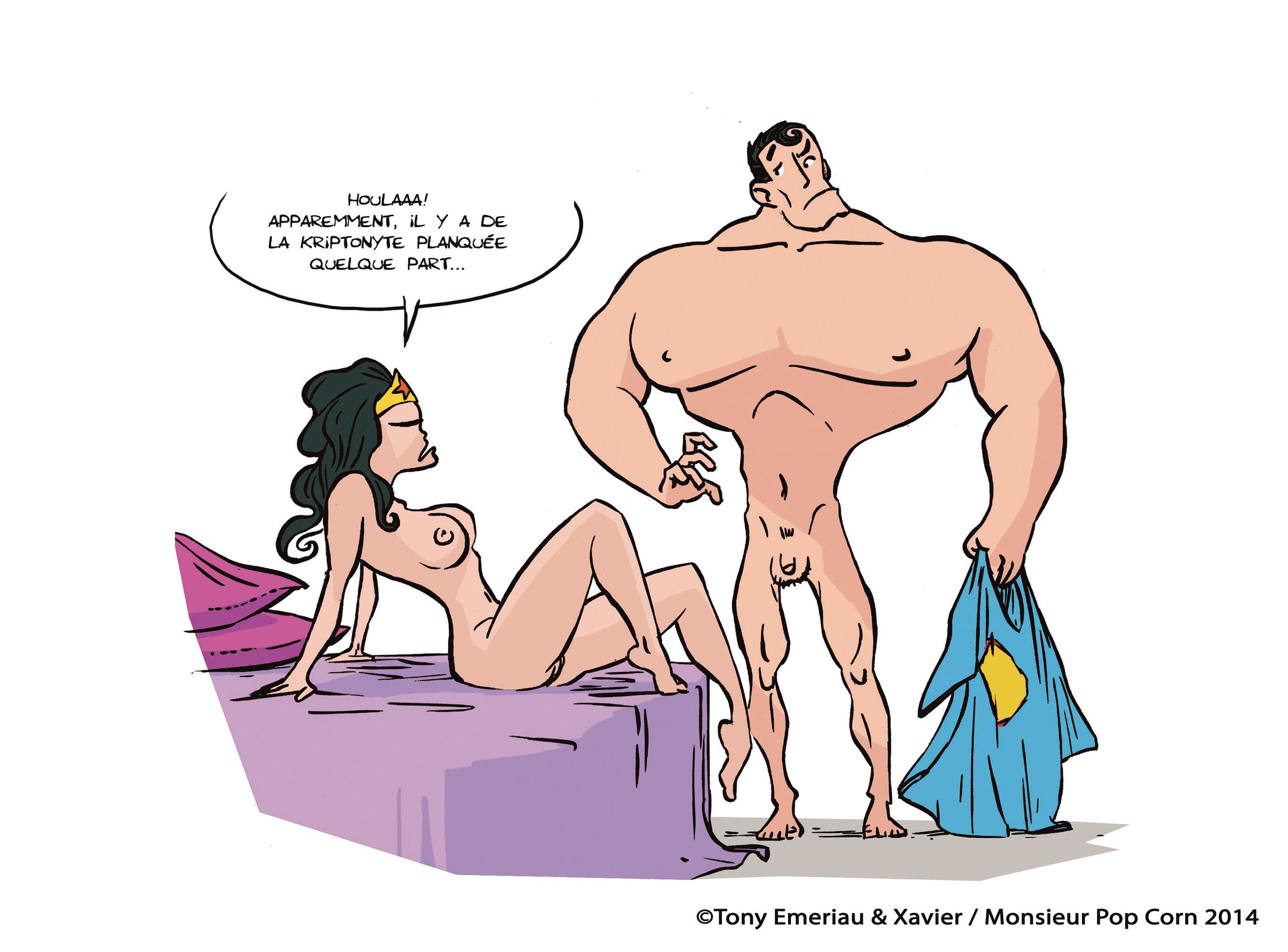 Sticky Pants : l'intimité des super-héros