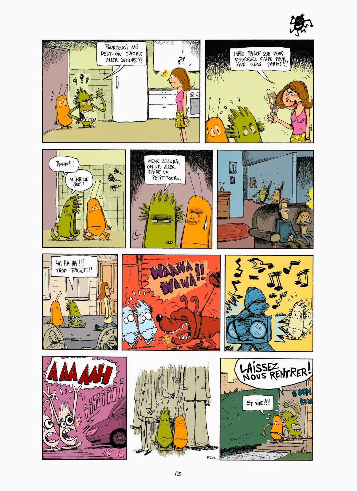 Lili et Crok le monstre - extrait