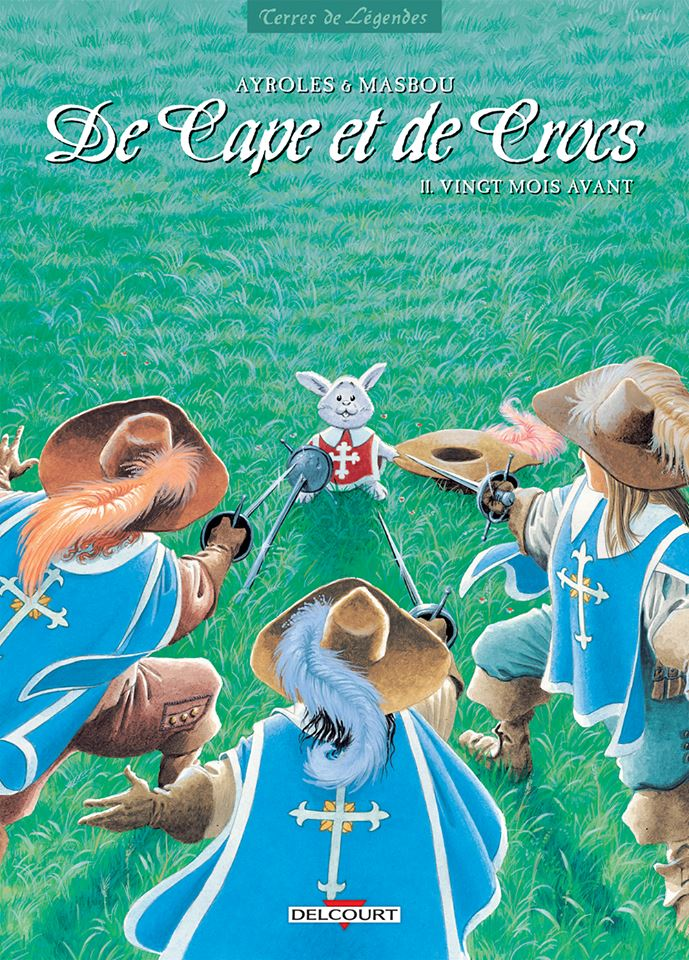 De capes et de crocs - tome 11 - couverture