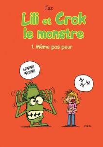 Lili et Crok le monstre - couverture