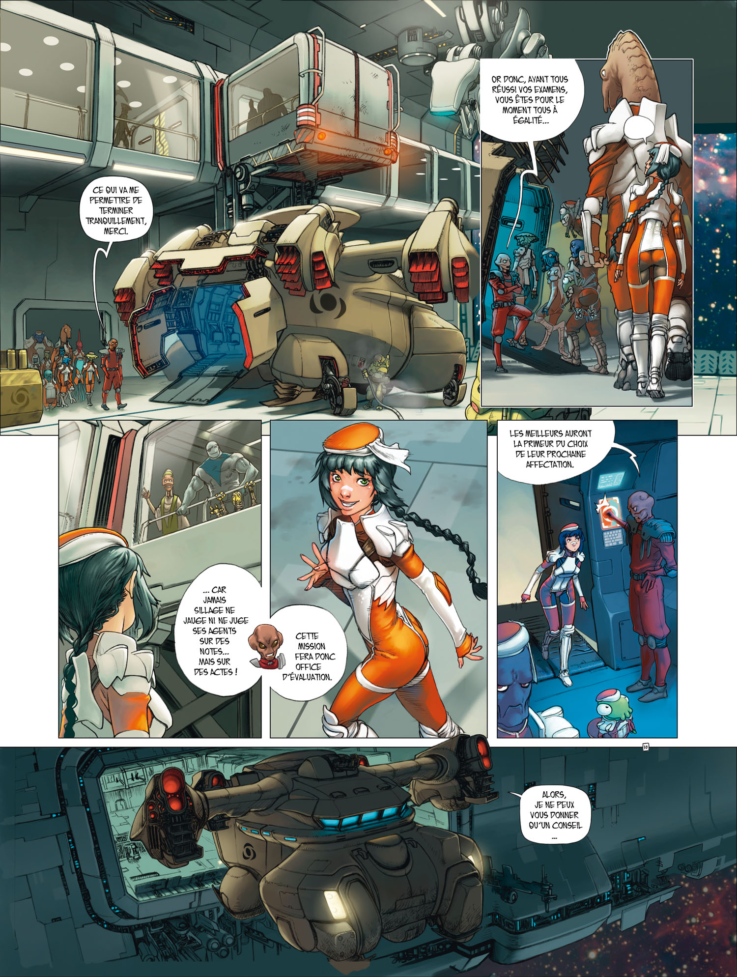 SILLAGE PREMIERES ARMES Tome 1 page 1