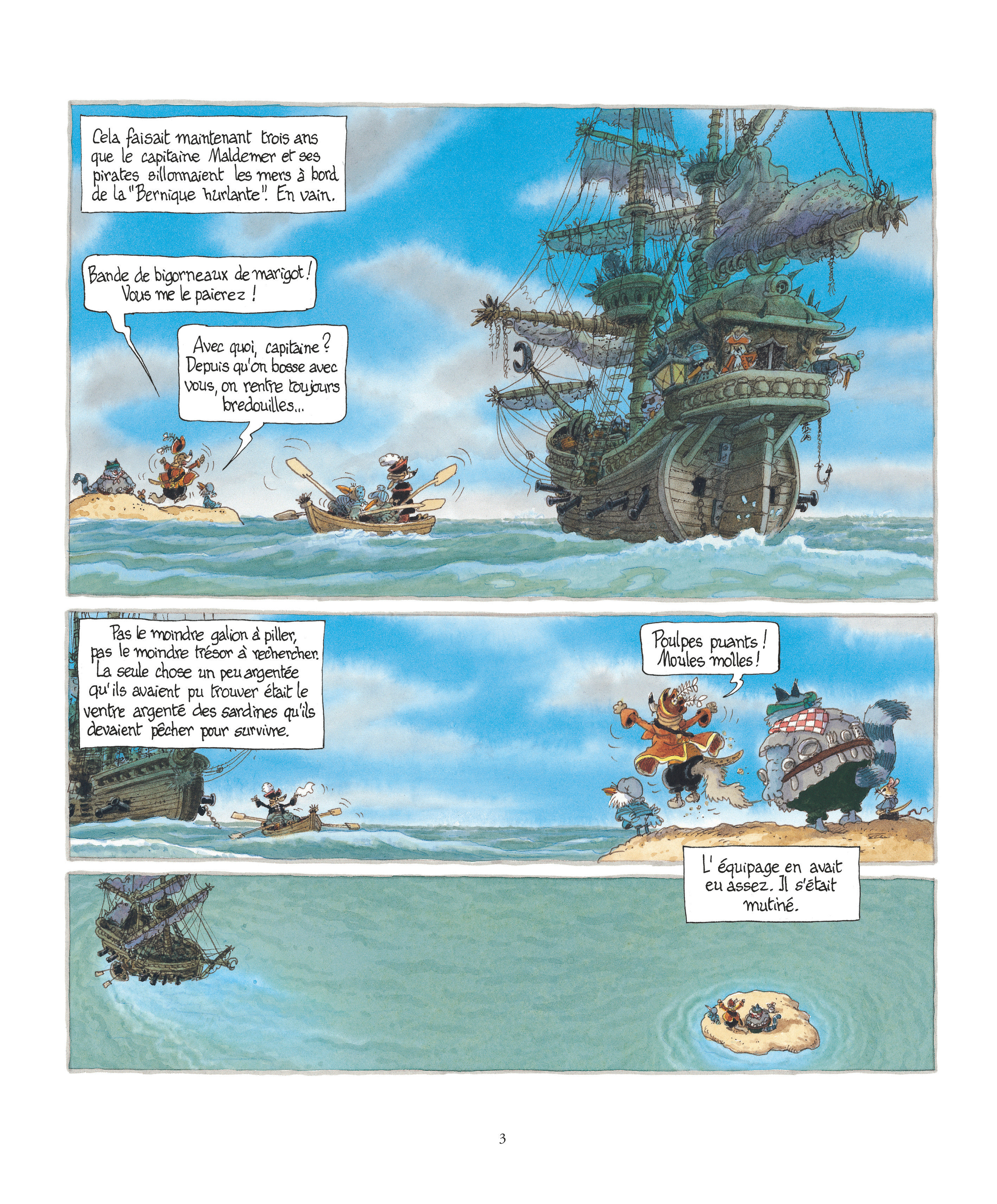 La chasse au trésor - couverture - Page 3