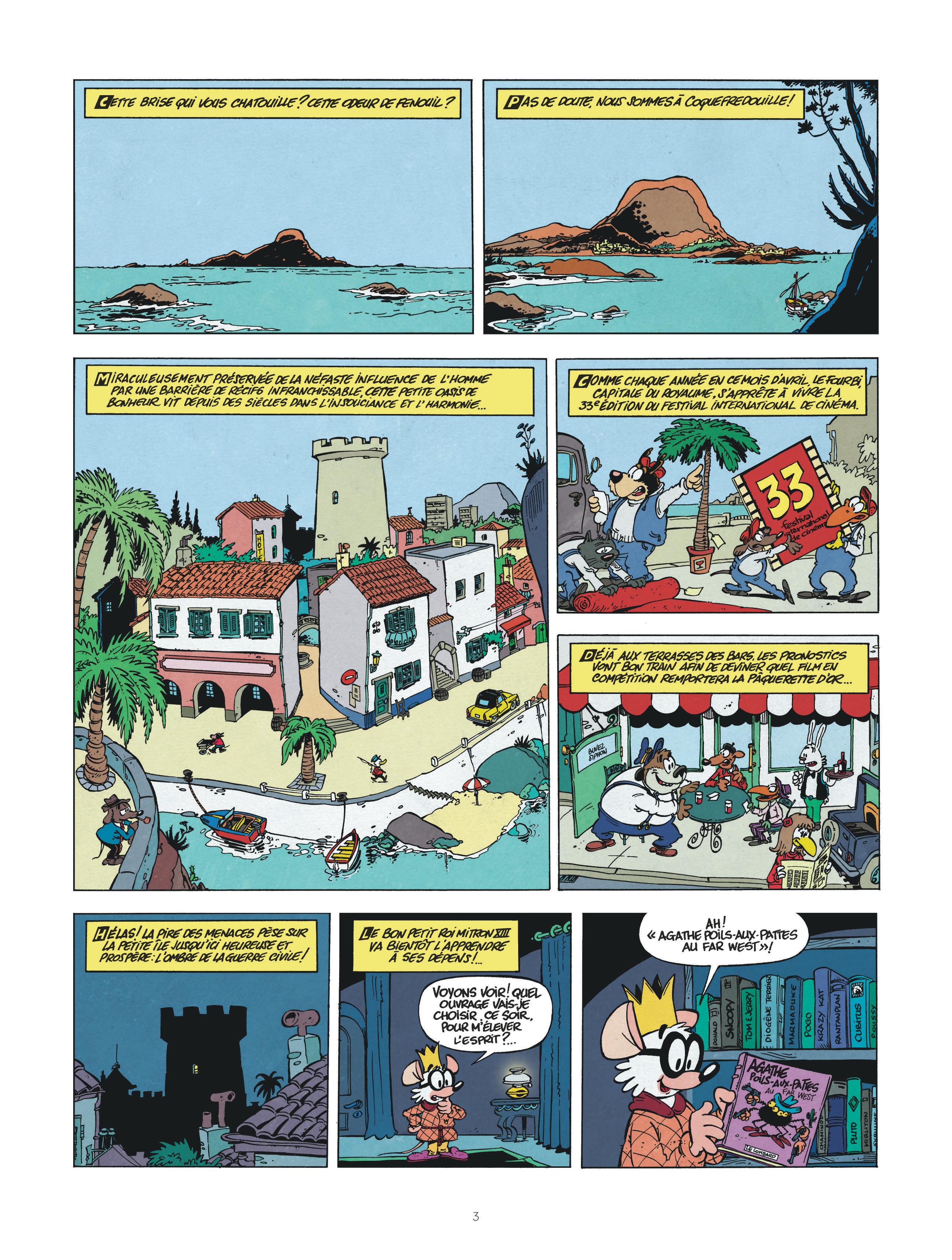 Une aventure de Chlorophylle - Le Lombard - Page 3