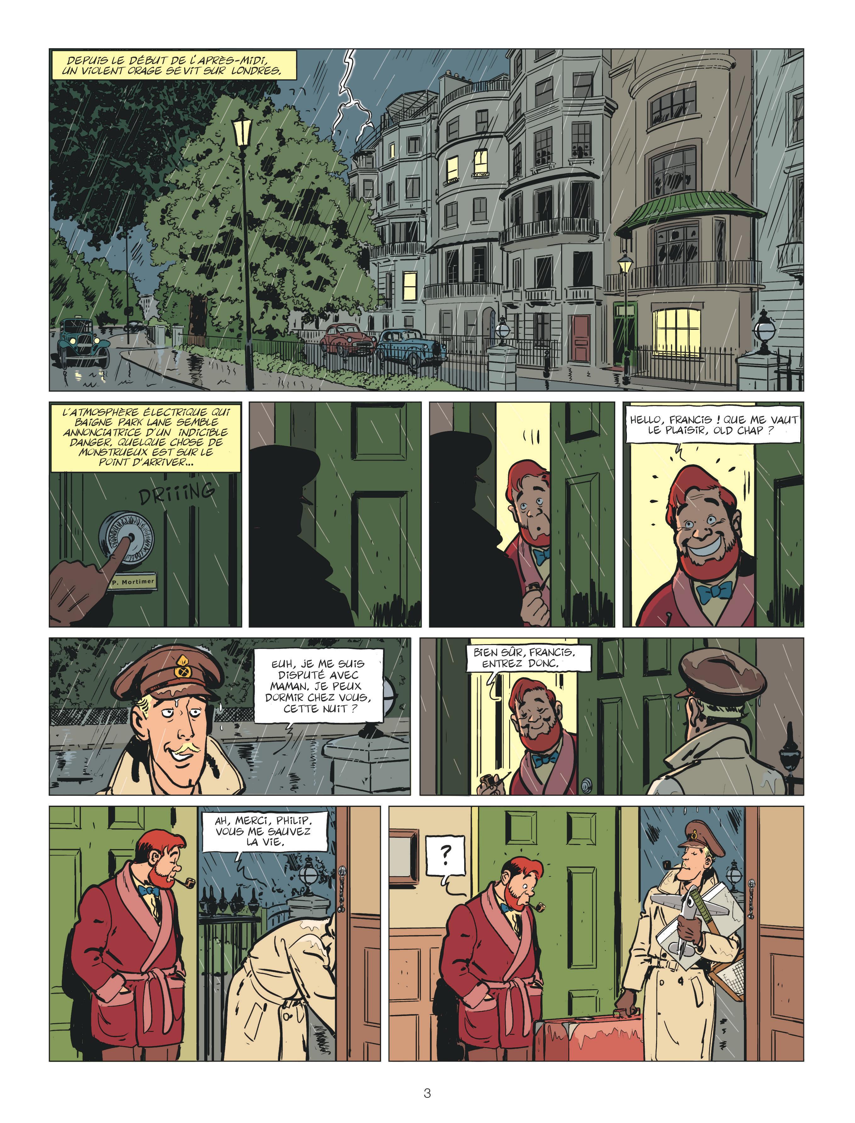 S.O.S Météo - Les aventures de Philip et Francis #3 - Dargaud