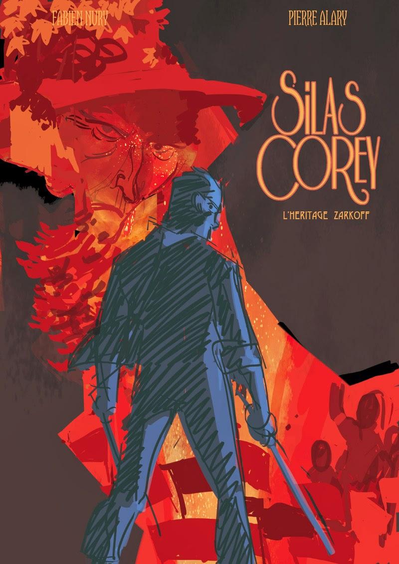 Silas Corey - Tome 3 - Projet de couverture 3