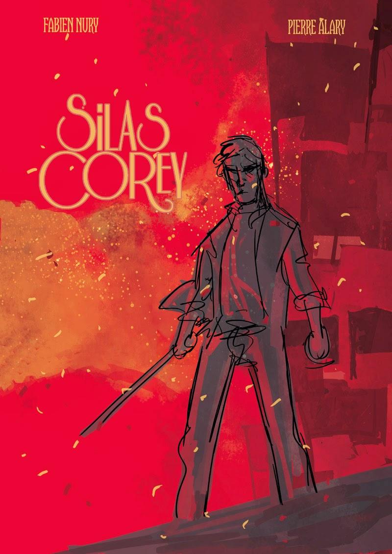 Silas Corey - Tome 3 - Projet de couverture 1