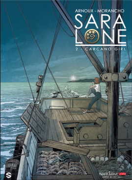 Sara Lone - Tome 2 - Couverture provisoire - Sandawe