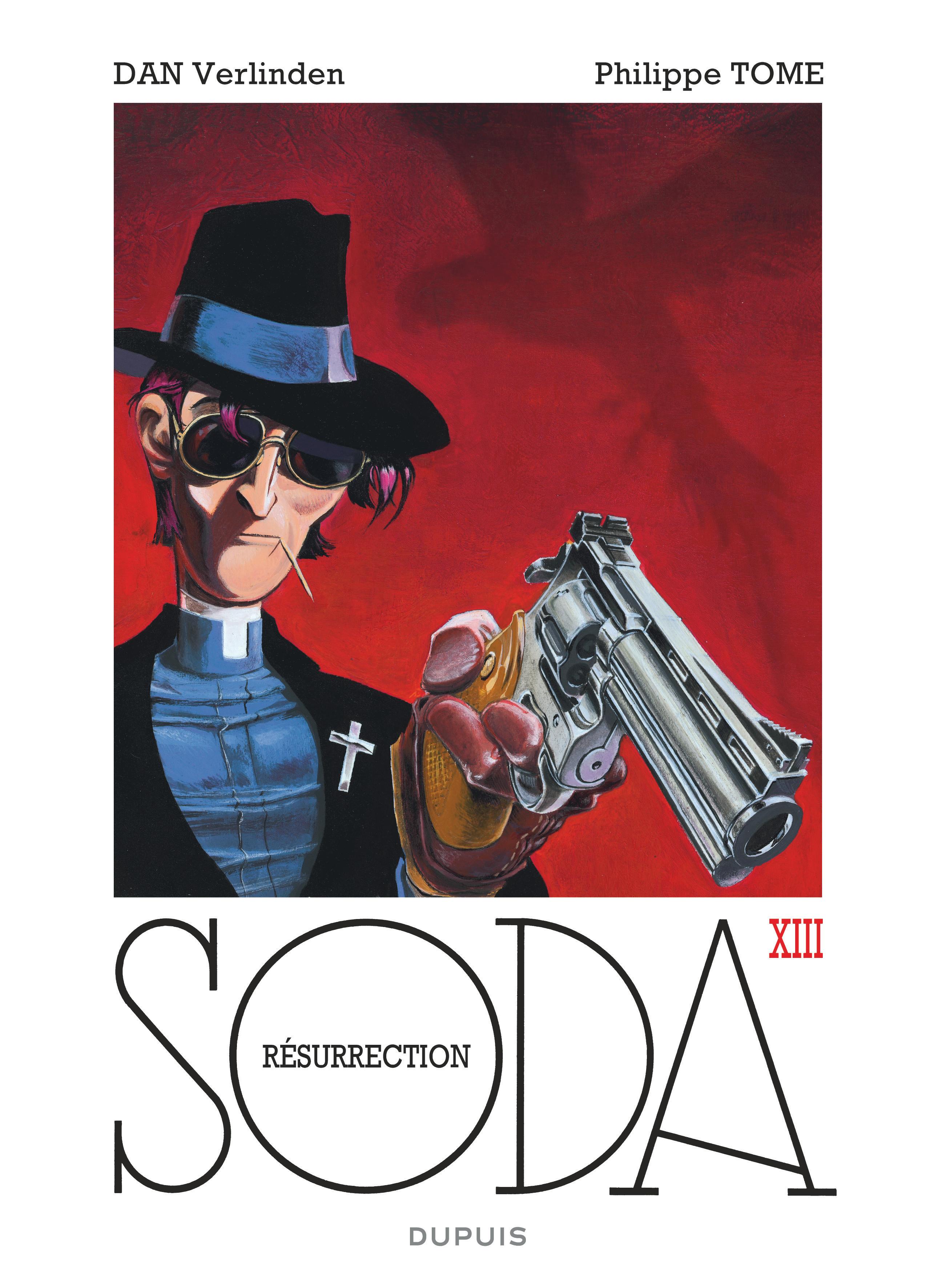 Soda #13 - Résurrection - Dupuis - Couverture