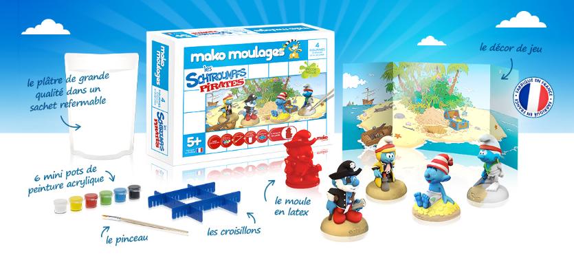 Mako Moulages - Mako Créations - Schtroumpfs