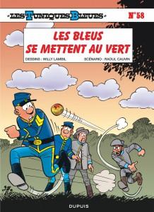 Les Tuniques Bleues - Les bleus se mettent au vert - Dupuis