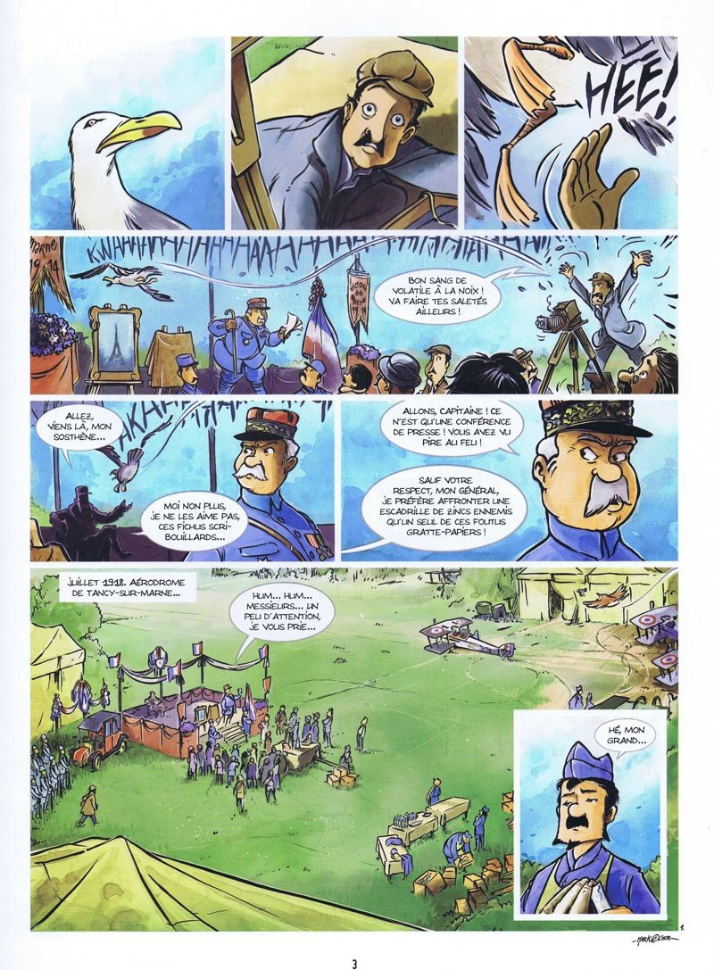 Les Godillots #3 - Le vol du Goéand - Bamboo