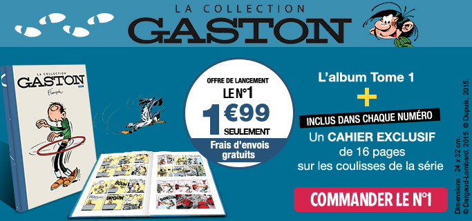 Gaston Lagaffe - Hachette Collections