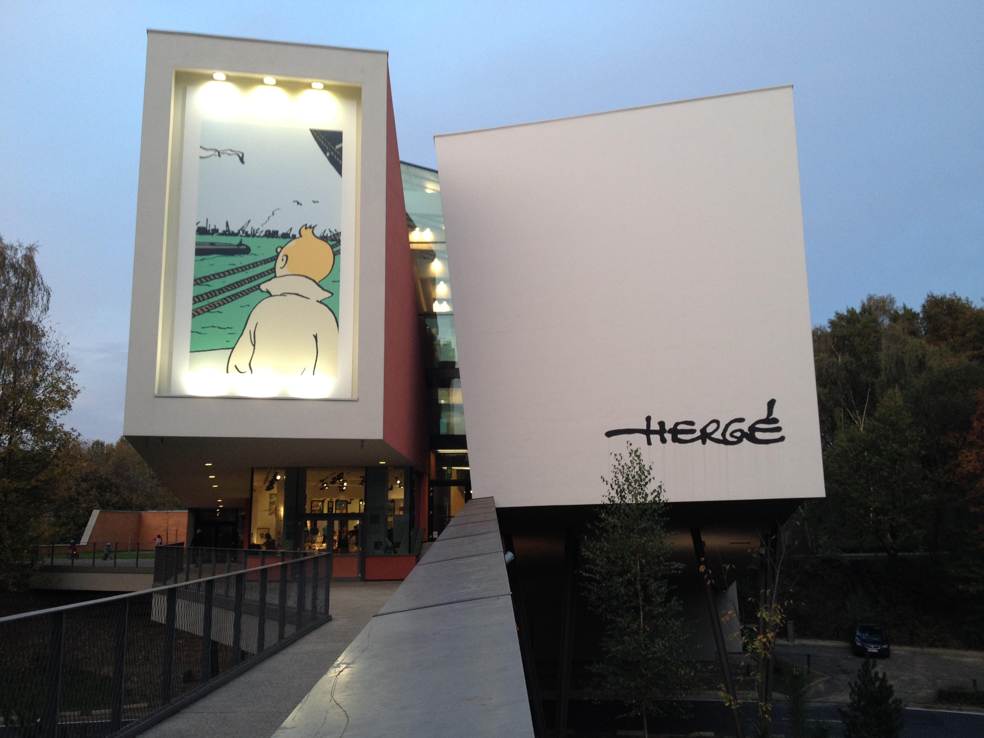 Musée Hergé - Louvain la Neuve - Tintin