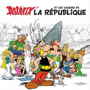 Les valaurs de la Répunlique - La Monnaie de Paris - Astérix