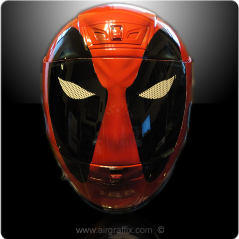Casque Super Héros - Deadpool - Air Graffix