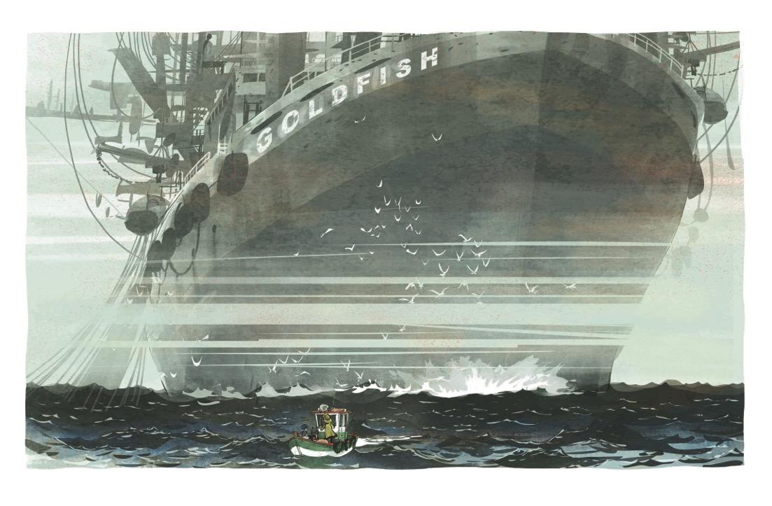 Dans la case de Grégory Panaccione - un océan d'amour - Delcourt