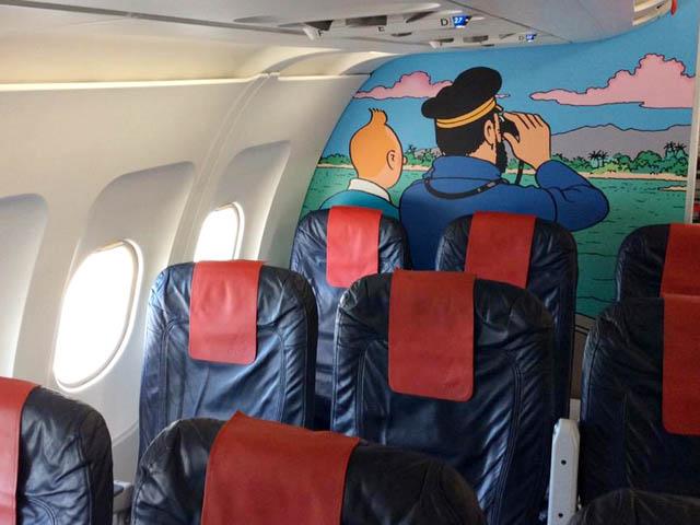 Rackham - Airbus Tintin - Brussels Airlines