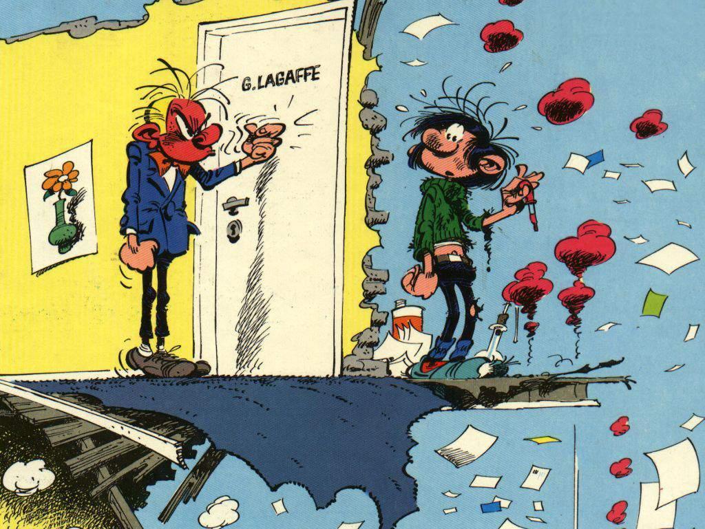 Gaston Lagaffe - Franquin - Dupuis