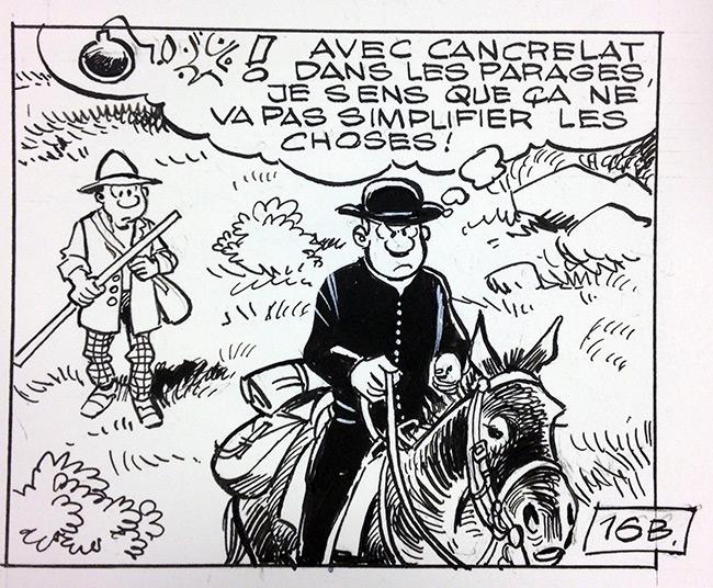 Les Tuniques Bleues #59 - Editions Dupuis - une news en plus