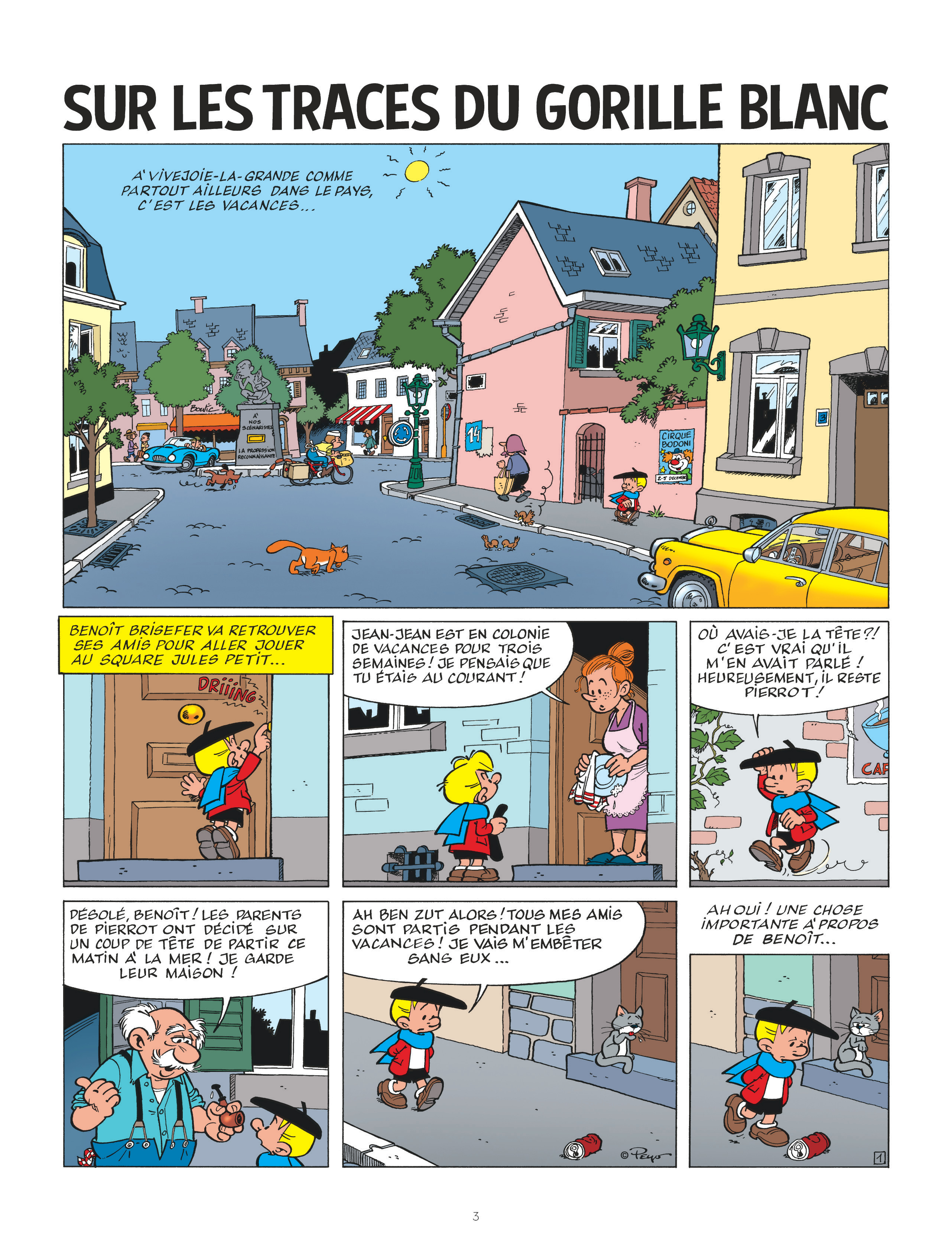 Benoit Brisefer #14 - Sur les traces du gorille blanc - Le Lombard