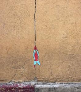 Street Art - BD - La BD sort de sa case