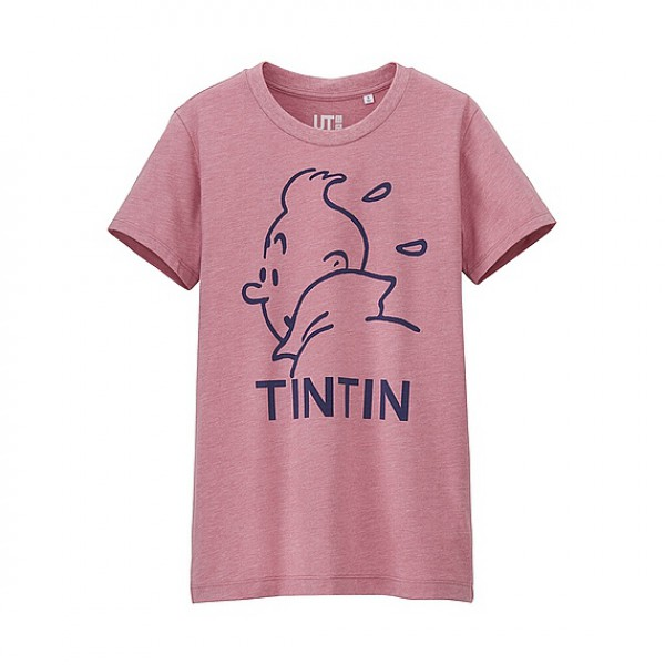 Collection Tintin – Uniqlo – Moulinsart