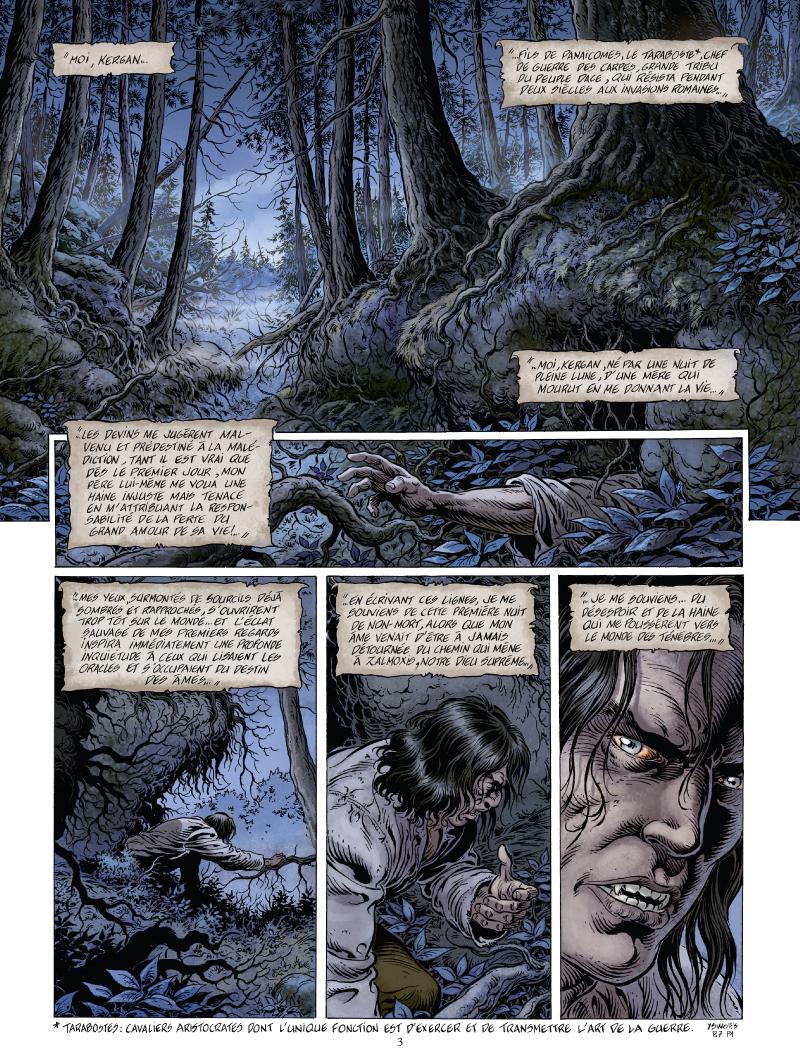 Le prince de la Nuit - La première mort - Glénat - Yves Swolfs