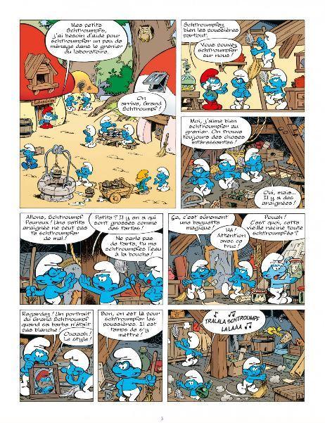 Les Schtroumpfs - Schtroumpf le Héros - Le Lombard