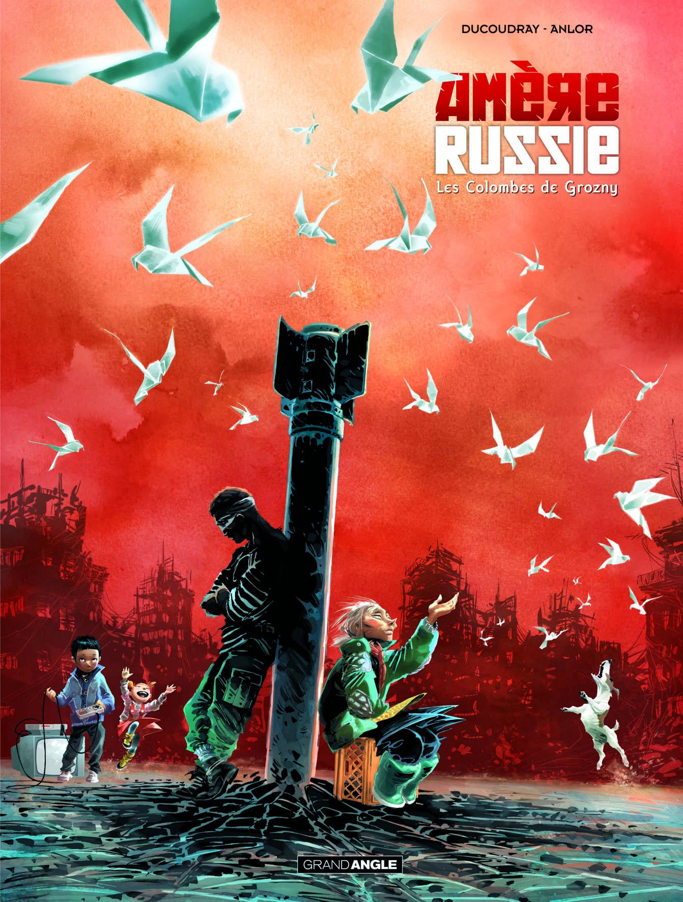 Amère Russie Tome 1 Les Amazones de Bassaïev - Aurélien Ducoudray, Anlor