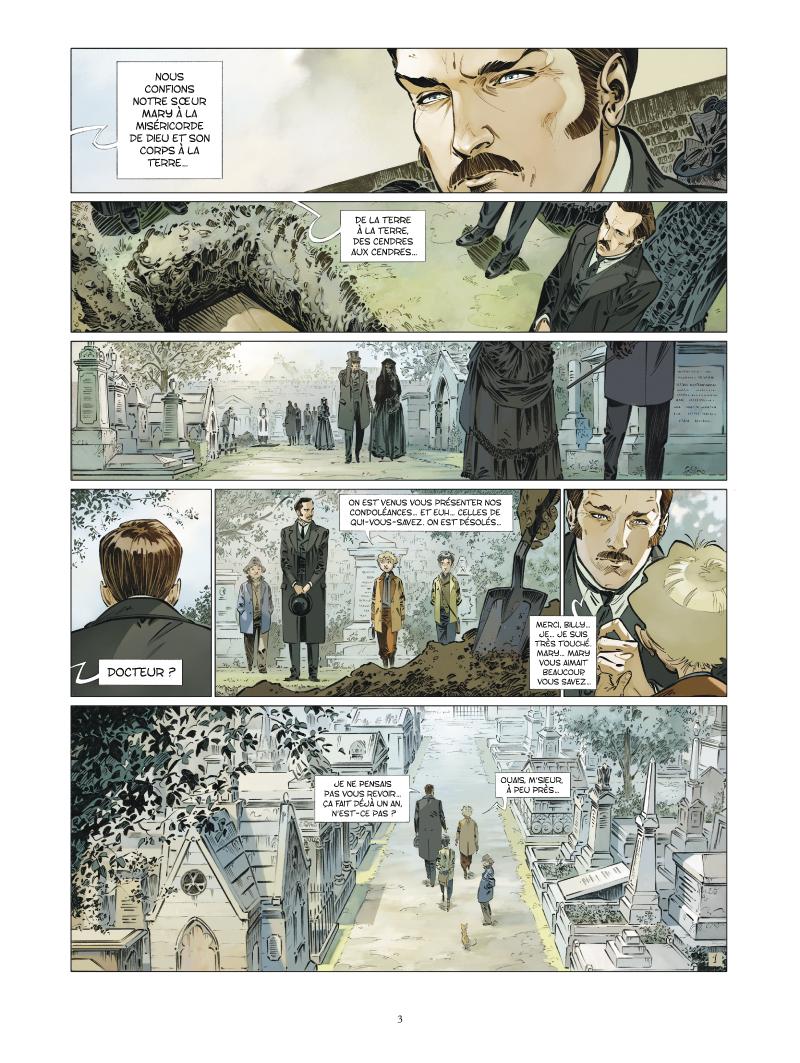 Les quatre de Baker Street #6 - L'homme du Yard - Vent d'Ouest - Glénat