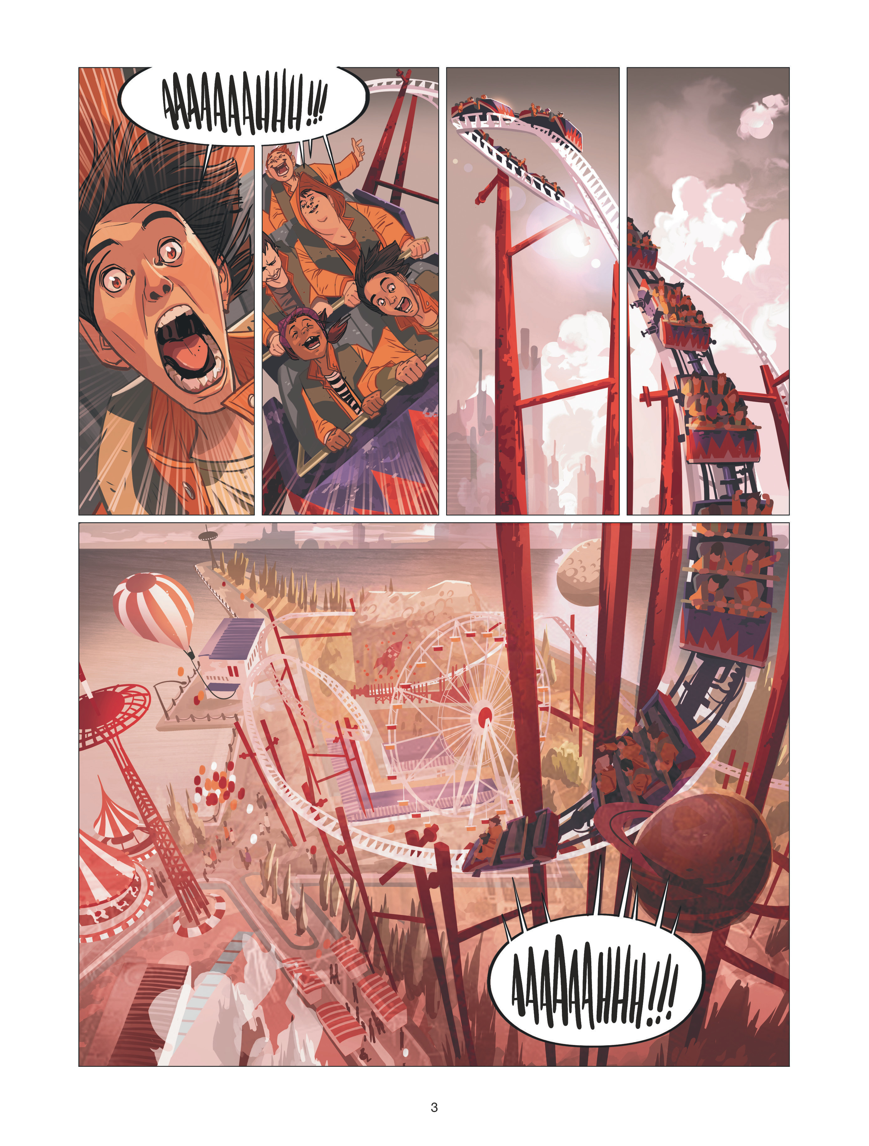 Warship Jolly Roger #2 - Déflagrations - Dargaud - Sylvain Runberg - Miki Montllo