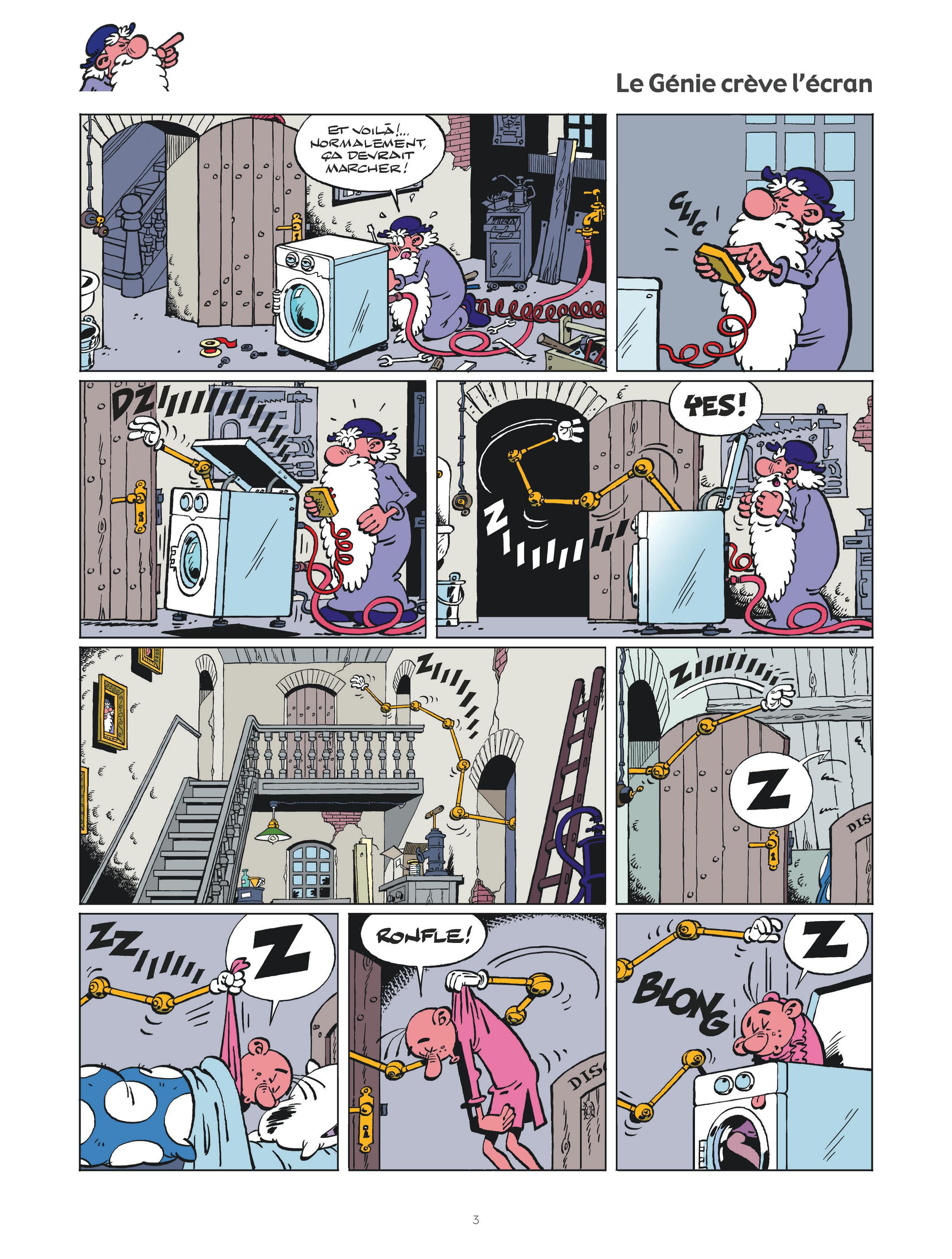 Léonard #46 - Le génie crève l'écran - Le Lombard