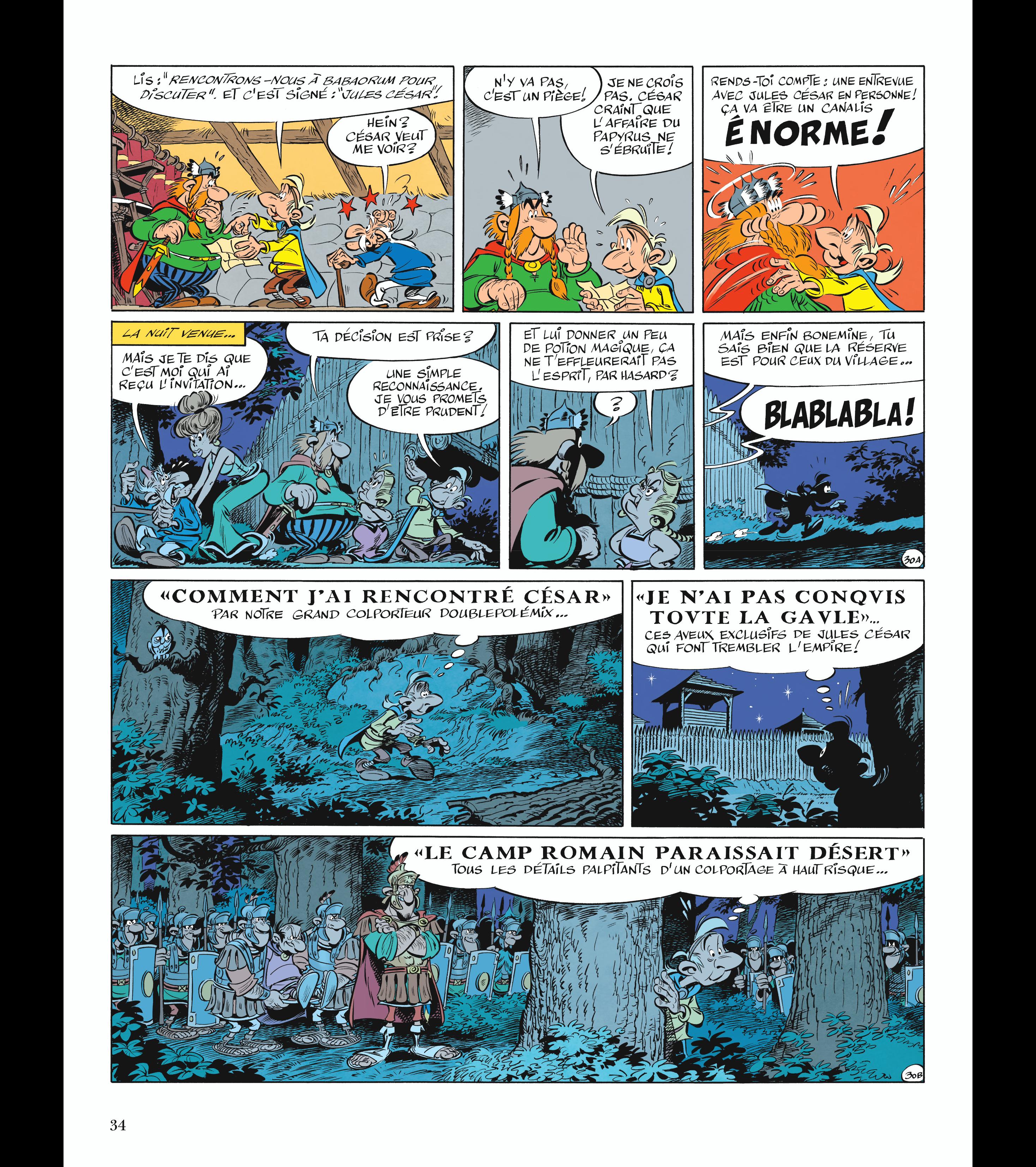 Astérix #36 - Le Papyrus de César - Conrad - Ferri - Albert René