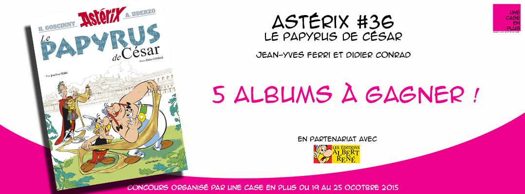 Astérix #36 - Le Paypurys de César - Concours