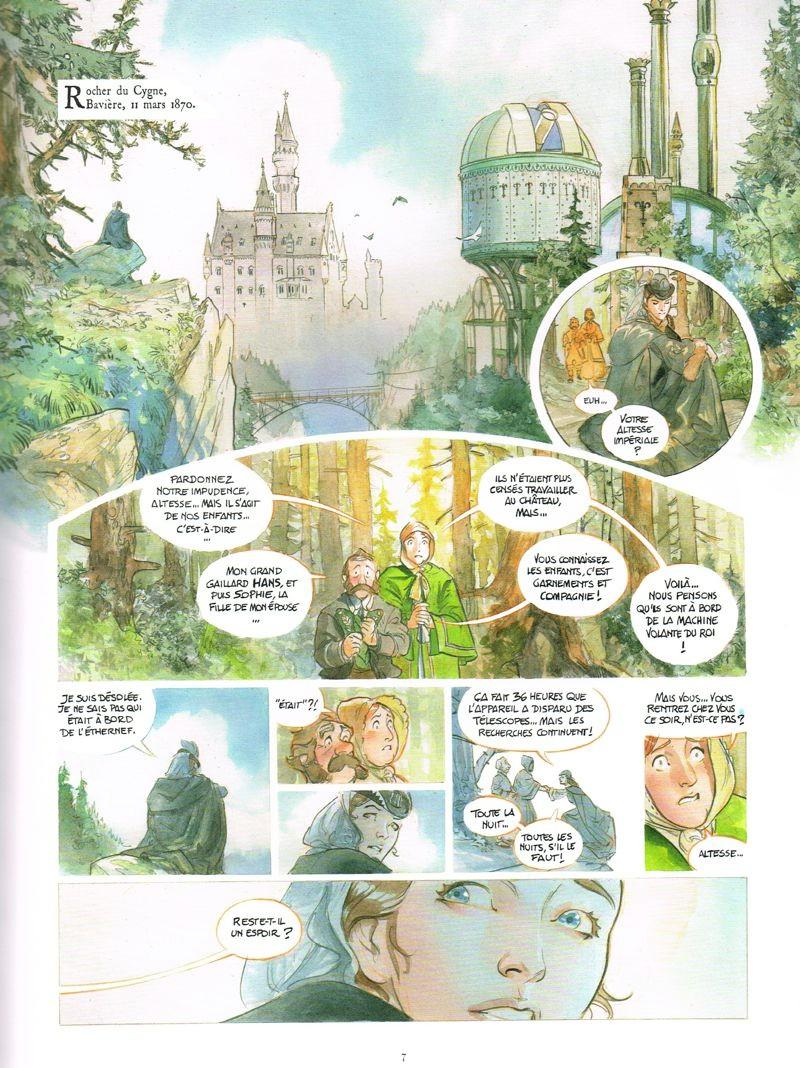 Le château des étoiles #2 - La conquête de l'espace - Rue de Sèvres - Alex Alice