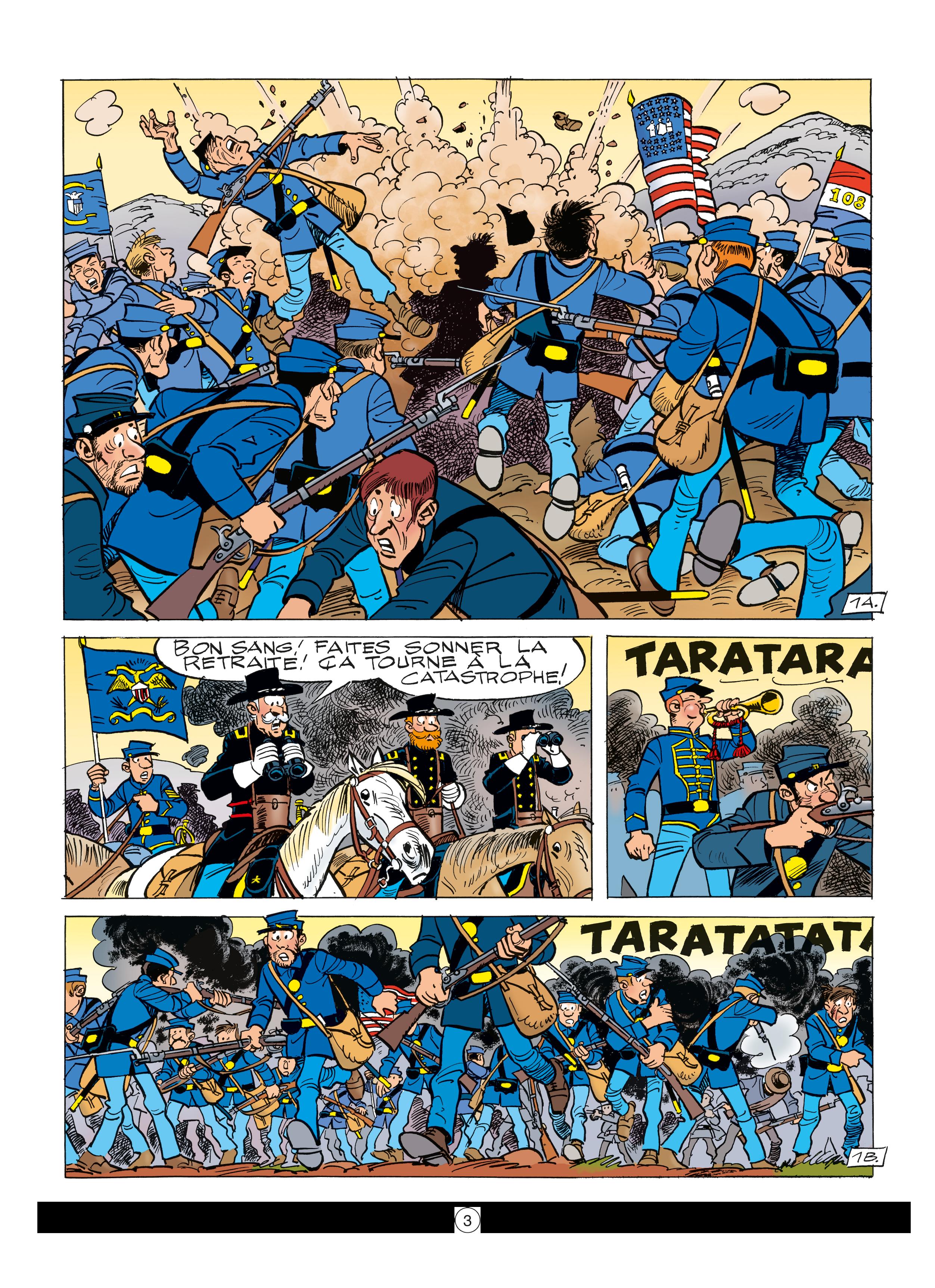 Les Tuniques Bleues #59 - Les quatre évangélistes - Dupuis