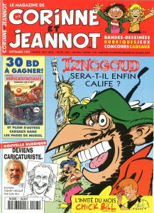 Magazine Corinne et Jeannot - Nicolas Tabary