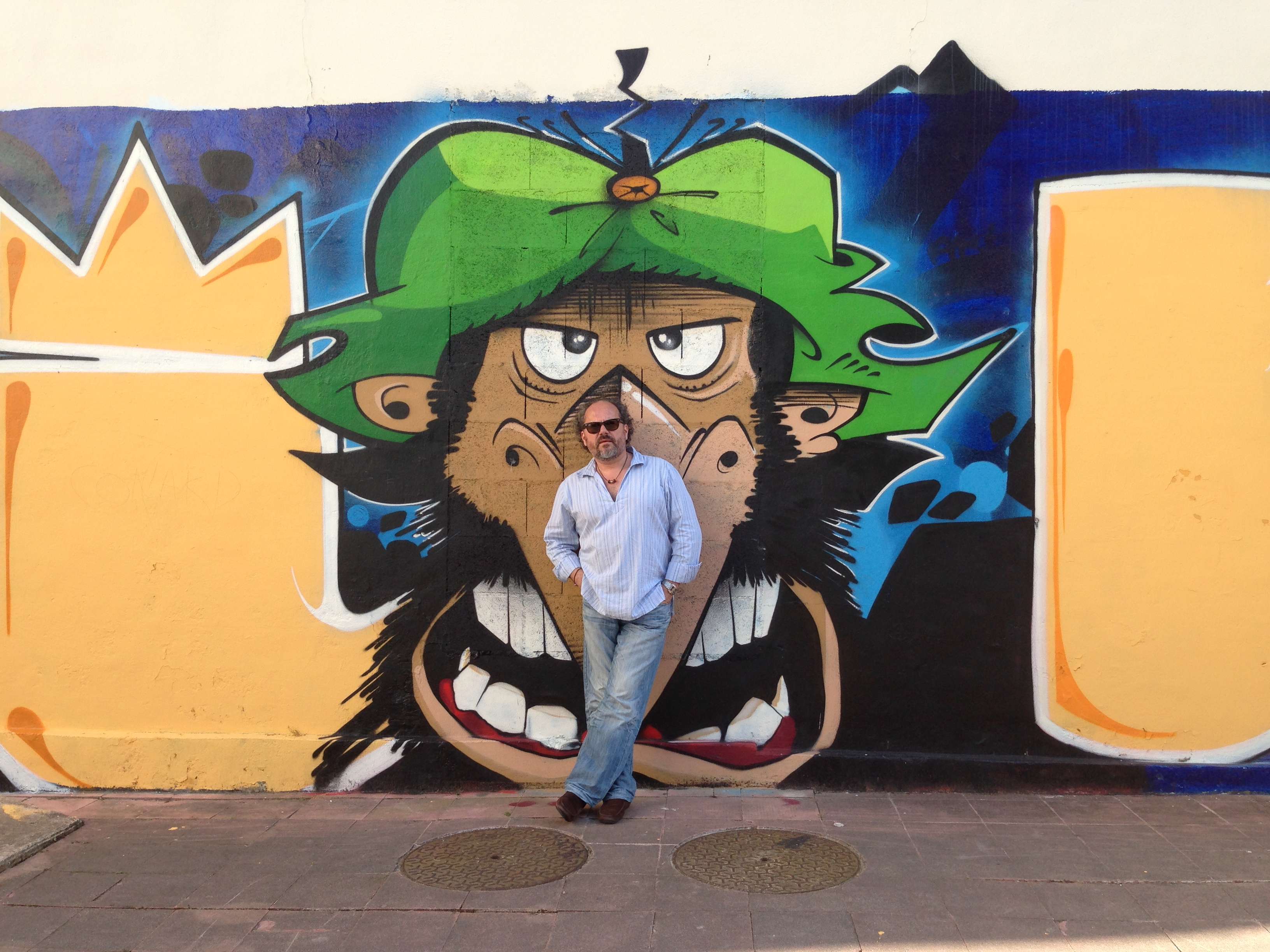 fresque - Iznogoud - Thibault Esonier - Graffitti