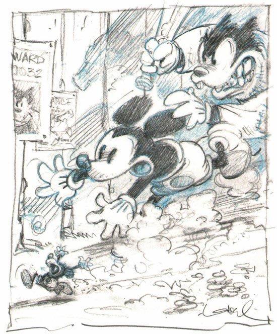 Mickey par Loisel Régis - Glénat