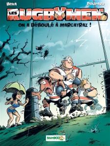 Les Rugbymen 14 - On a déboulé à Marcatraz ! - Béka - Poupard - Bamboo