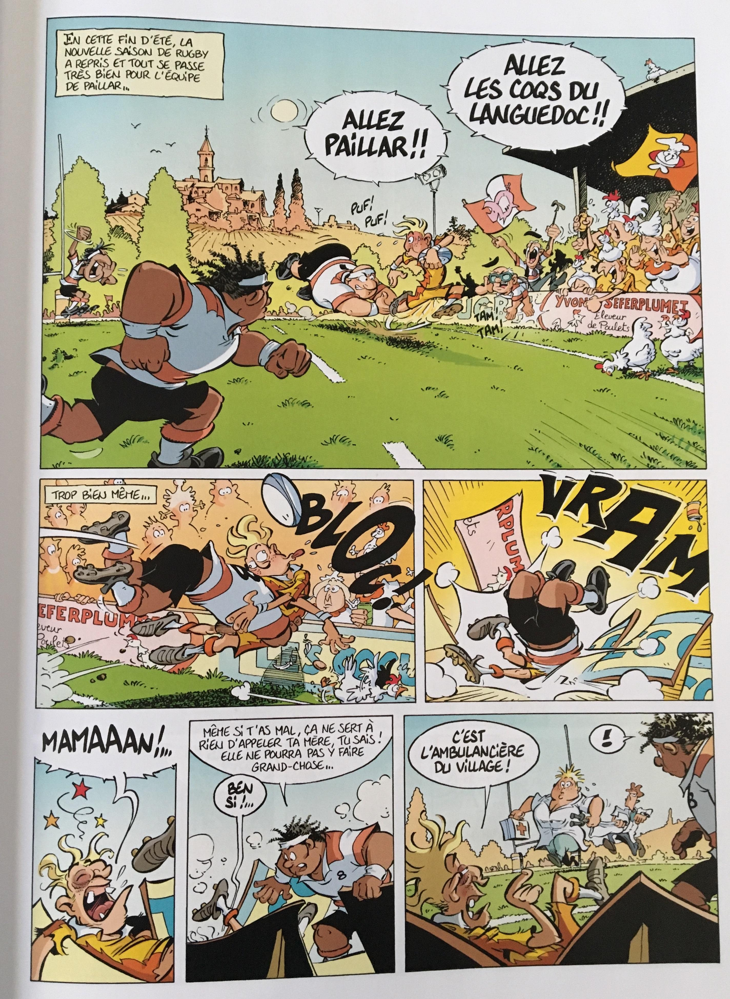 Les Rugbymen 14 - On a déboulé à Marcatraz ! - Béka - Poupard