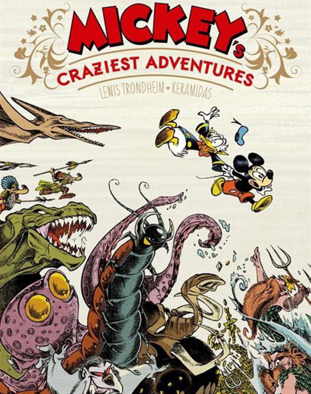 Mickey Craziest Adventures – Kéramidas – Trondheim – Glénat
