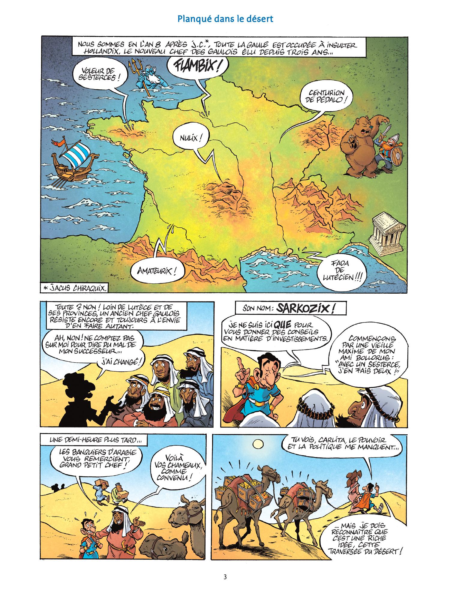 Les nouvelles aventures de sarkozix #1 - Sur le retour - Delcourt - Nicolas Pothier, Geoffroy Rudowski